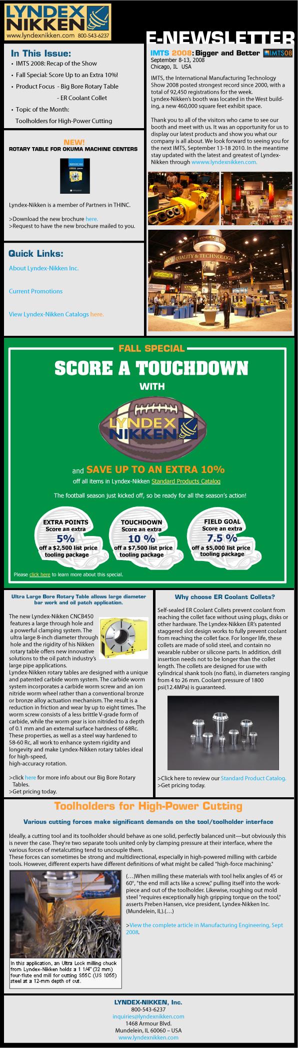 E-Newsletter - Lyndex-Nikken, Inc